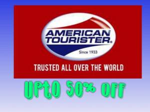 American Tourister Get upto 50% Discount
