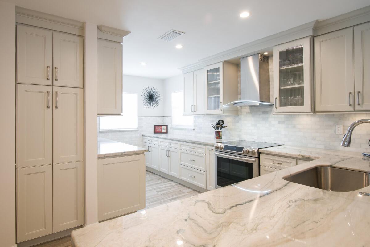 Cottage Kitchen Renovation In South Florida Kabco Kitchens