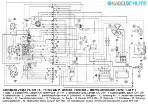 Vespa Px 125 Wiring Diagram  Wiring Diagram