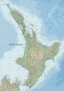 Unsere Tour auf der Nordinsel