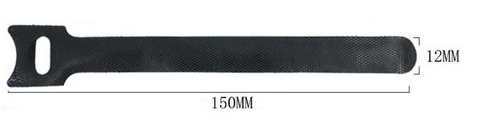 kabelbinder met loop afmetingen