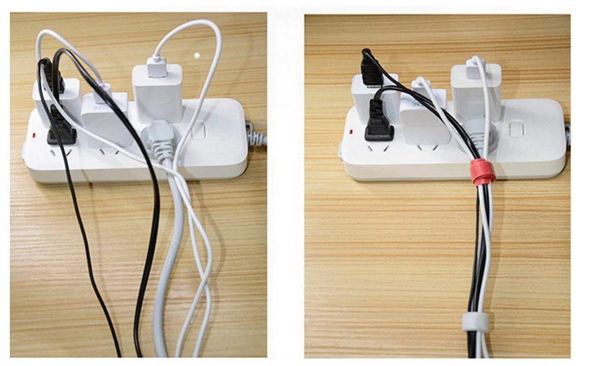 kabelbinder met loop voorbeeld