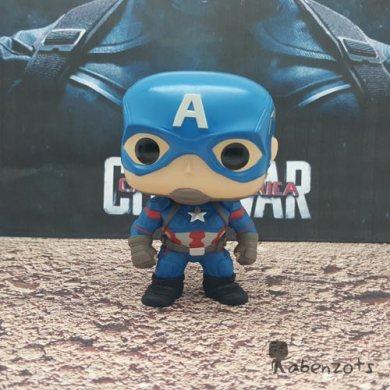 Funko Pop Capitán América artístic