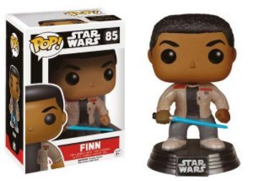 Funko Pop Finn con sable laser