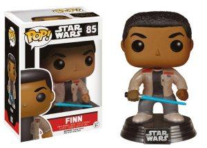 Funko Pop Finn con sable laser