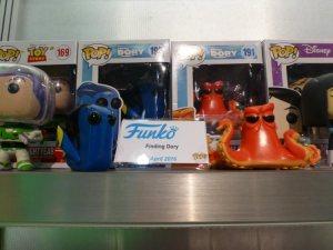 Funko Pop de Dory y el Pulpo