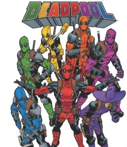 Deadpool Rainbow Squad