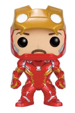 Funko Pop Iron Man Unmasked