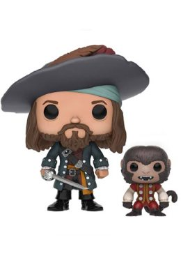 Funko Pop Barbossa con Mono