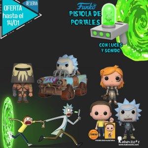 Reserva Rick y Morty Portal