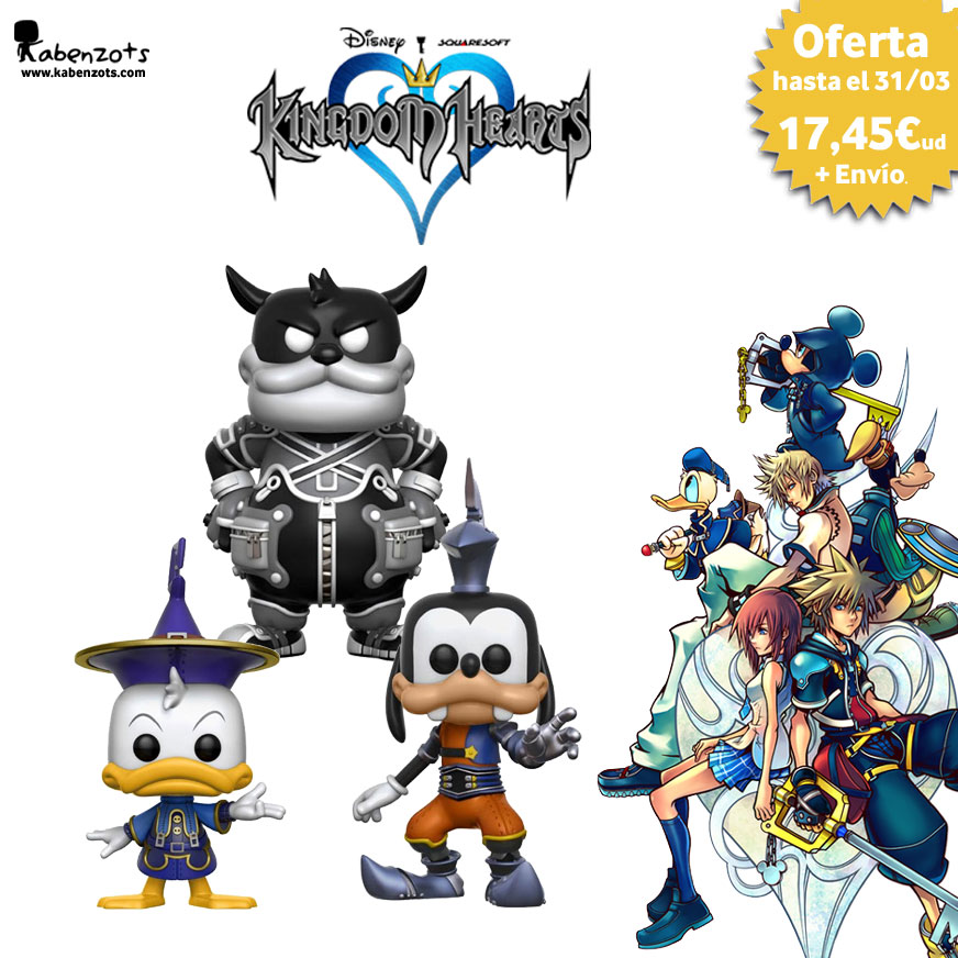 Reserva Kingdom Hearts Exclusivos