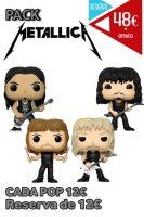 Funko Pop Pack Metallica