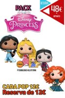 Funko Pop Pack Princesas Disney 2