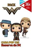 Funko Pop Pack Wonder Woman 2