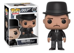 Funko Pop ODDJOB (Goldfinger)