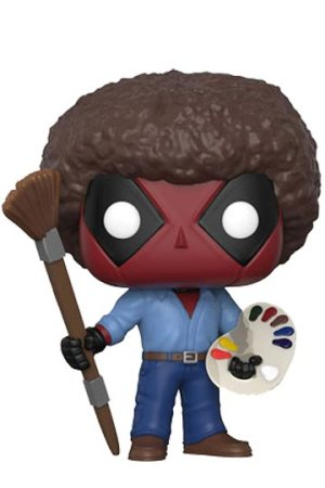 Funko Pop DEADPOOL Bob Ross