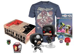MARVEL COLLECTOR CORPS BOX SUPERHERO SHOWDOWNS