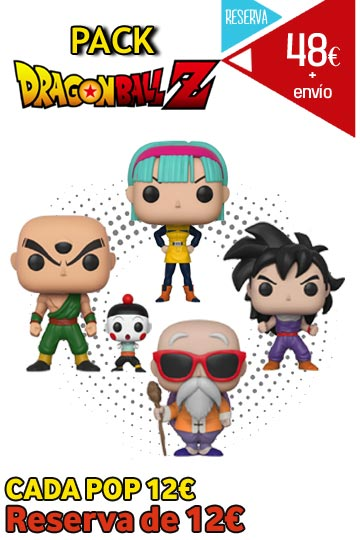 Funko Pop Pack DRAGON BALL Z
