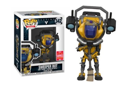 Glam del Funko Pop SWEEPER BOT SDCC18