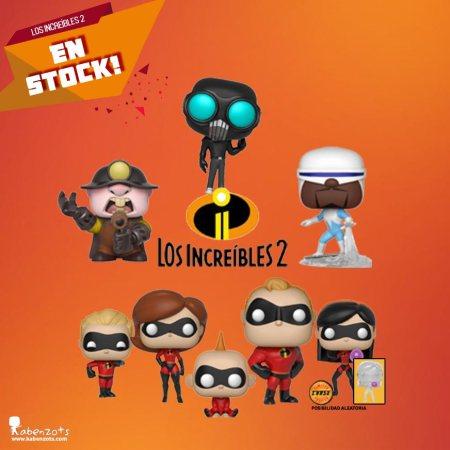 Stock Los Increíbles 2