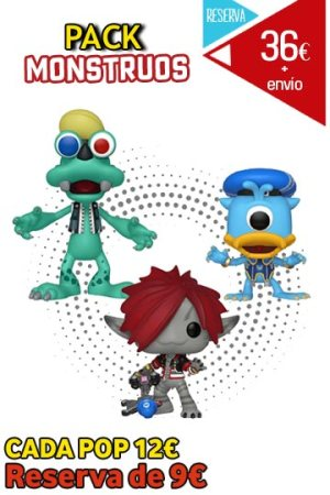 Funko Pop PACK MONSTRUOS