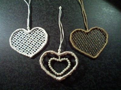 Сердца - декор ко Дню Влюбленных