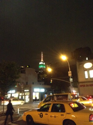 Empire State Building From Somewhere in Chelsea
