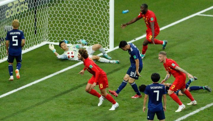Japan vs Belgium 2