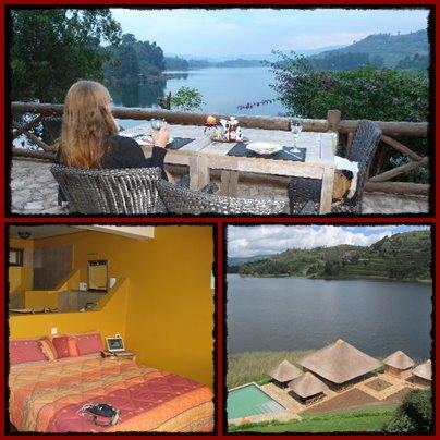 Birdnest Resort on scenic Lake Bunyonyi