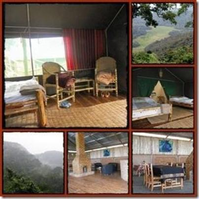 Bakiga Lodge in Ruhija - Bwindi Impenetrable Forest