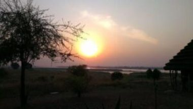 Heritage-safari-lodge-sunset-over-nile
