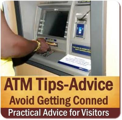Using an ATM Machine in Uganda - Rwanda
