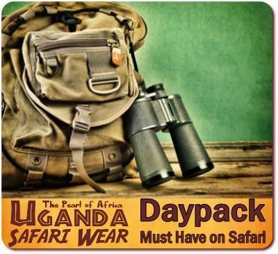 Waterproof Daypack for your Gorilla Trekking Safari