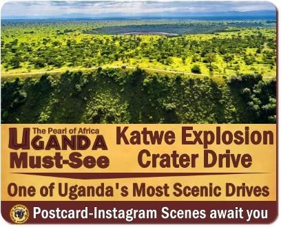 The Scenic Katwe Explosion Crater Drive-Queen Elizabeth Park