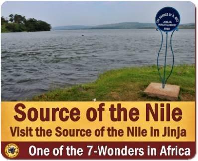 Visit the Source of the Nile in Jinja - Uganda