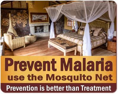 Avoid getting Malaria on a Safari in Uganda - Preventing Malaria