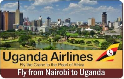 Uganda Airlines-Fly the Crane to the Pearl of Africa