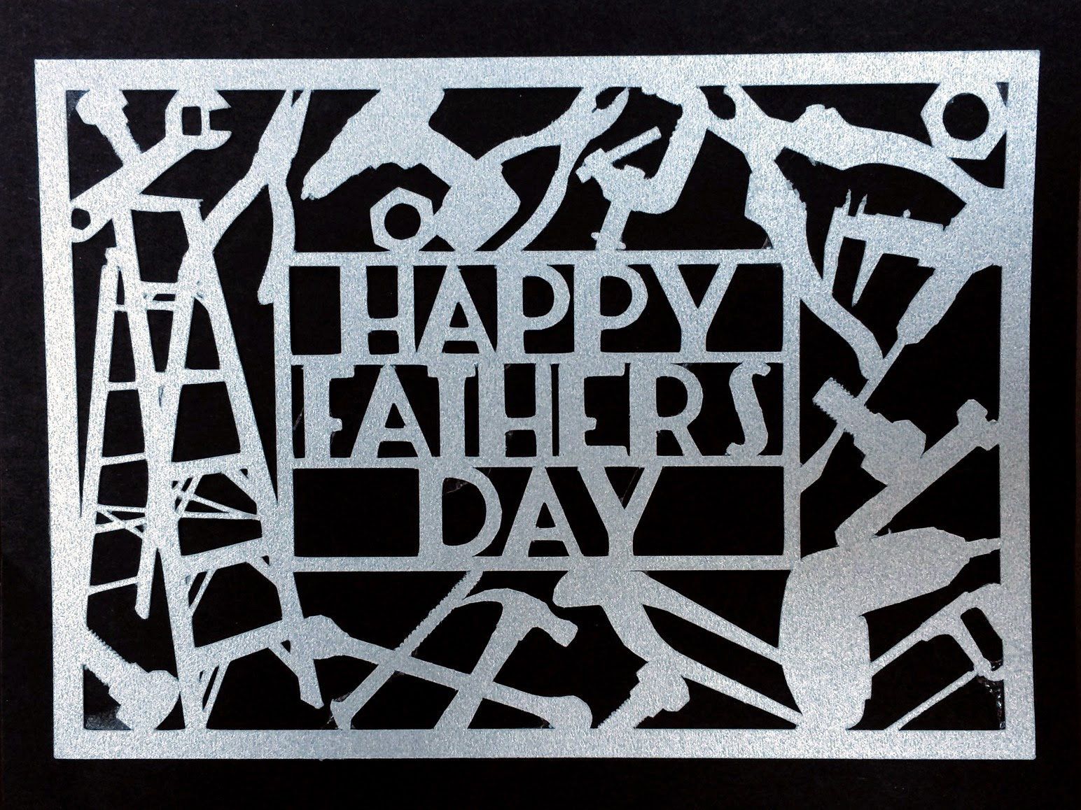 Father's Day Card SVG Download » Kabram Krafts