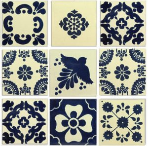 Spanish Tile Set