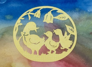 ducklings cutout