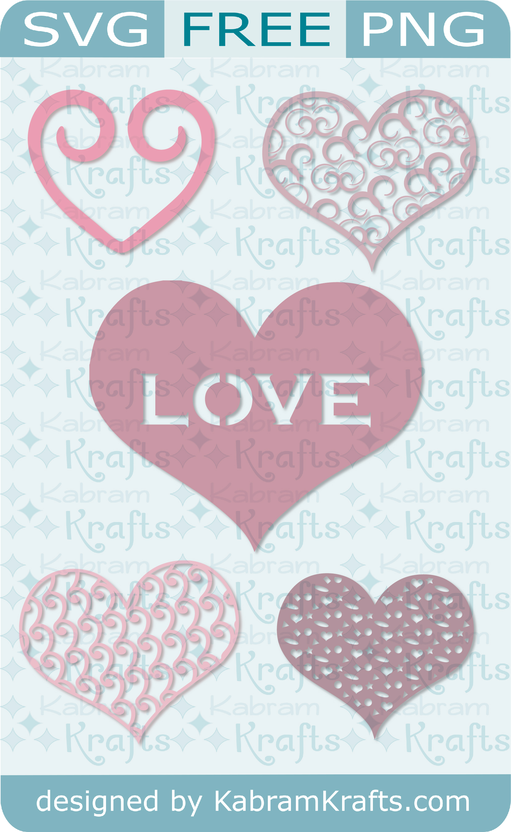 Hearts For Your Valentine Free Svg Download For Your Card Making