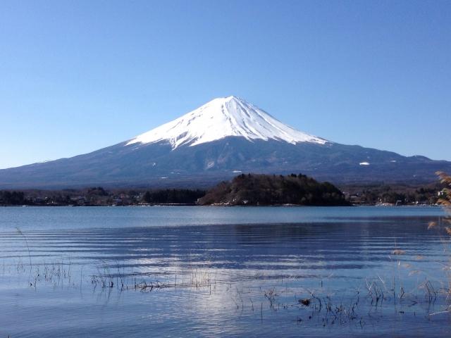 シンメトリーの富士山