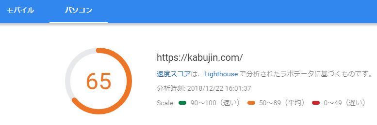 ブログ運営報告21日目_PC読込速度