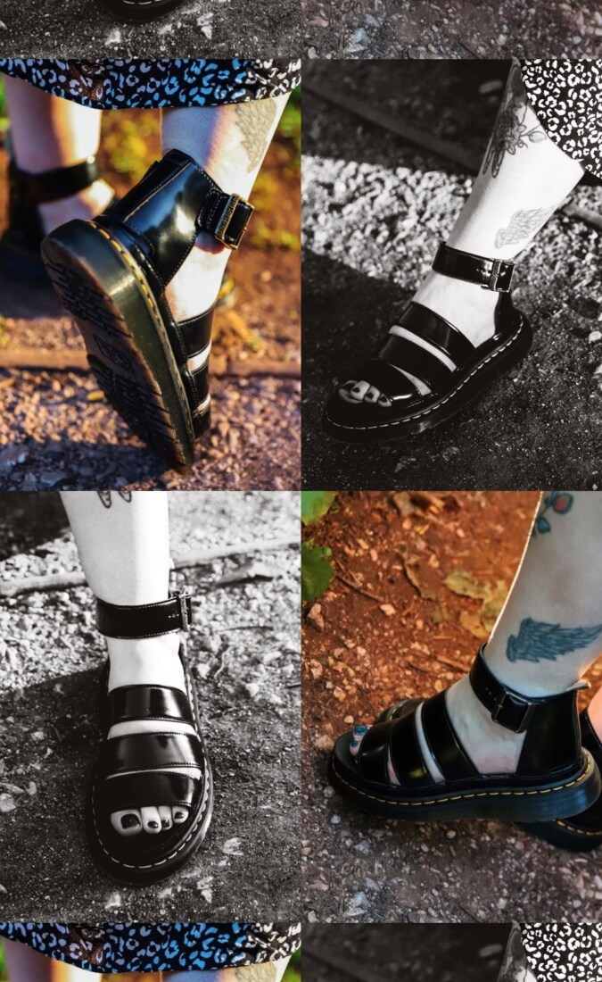 Dr. Martens Vegan Clarissa II Oxford Sandals Review