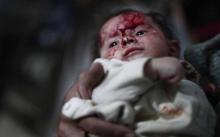 د سوریې دوما ښار - سپټمبر، ۲۰۱۴ / (AFP / Abd Doumany)