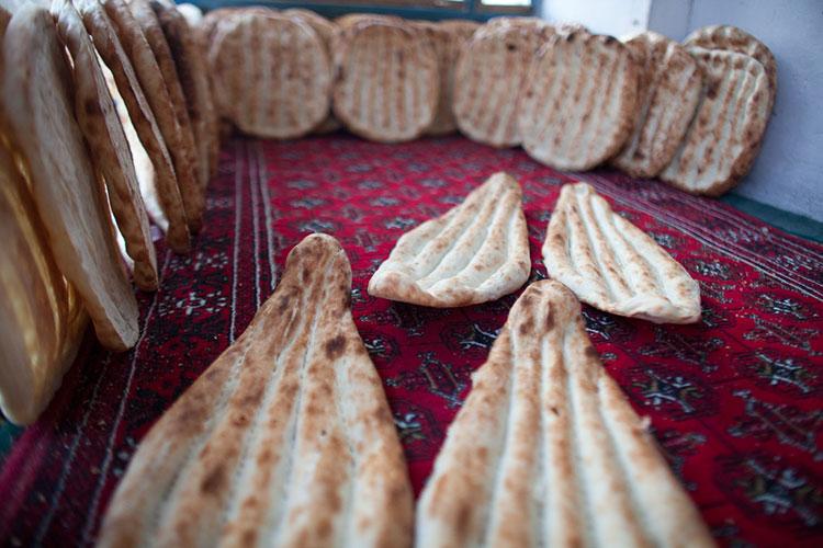 Afghan bread
