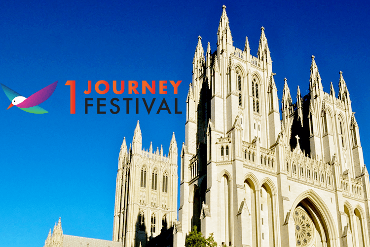 Event poster for One Journey Festival 2018.