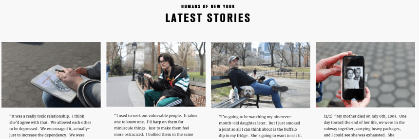 Humans of NY project blog post kabutakapua kardashian attention