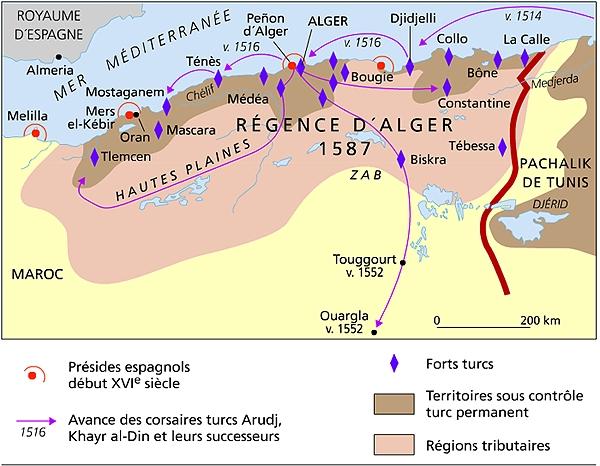Algerie Ottomane Ou Regence D Alger 1515 1830 Kabyleuniversel Com
