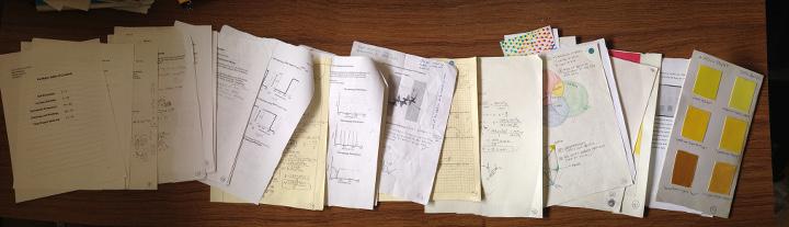 A student's portfolio.